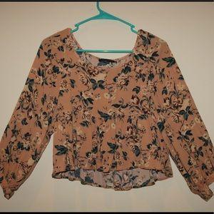 American Eagle long sleeve blouse